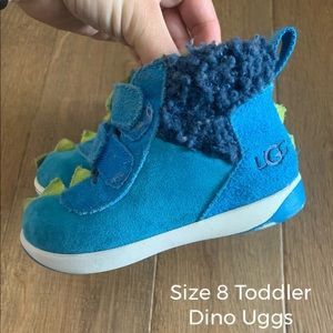 GUC Toddler Dino UGGS size 8